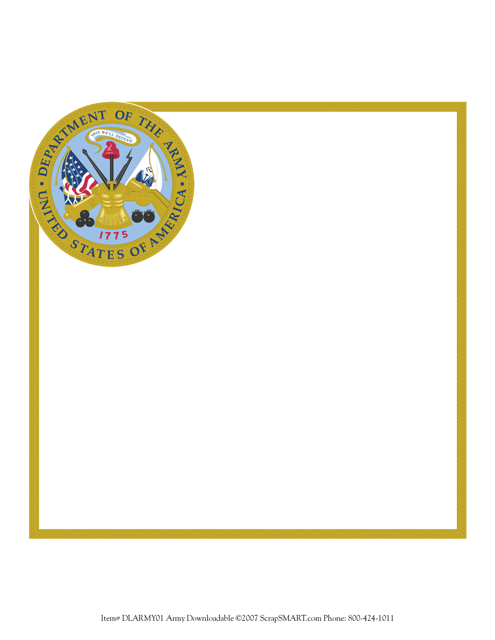 ScrapSMART: FREE Military Frames