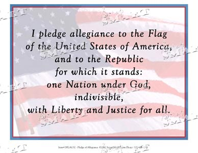 ScrapSMART: Pledge of Allegiance