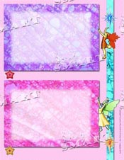 Fairy Princess Scrapbook Page Downloadable