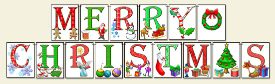ScrapSMART: Merry Christmas Banner - Medium