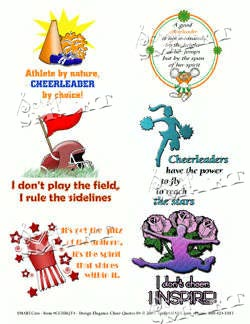 Scrapsmart Cheer Quotes 04