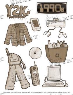 ScrapSMART: Fads, Doodads & Funky Stuff 1990s Page 4