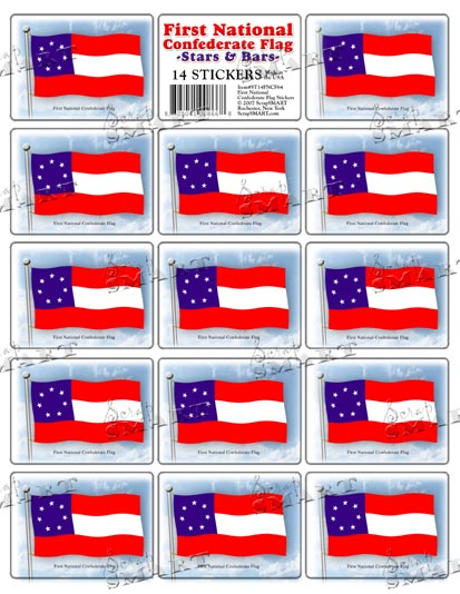 scrapsmart 14 first national confederate flag images